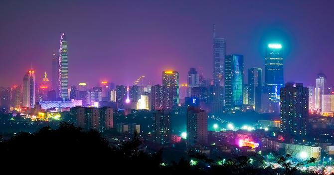 中国,深セン