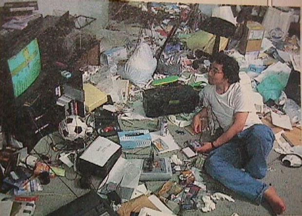 汚部屋の画像